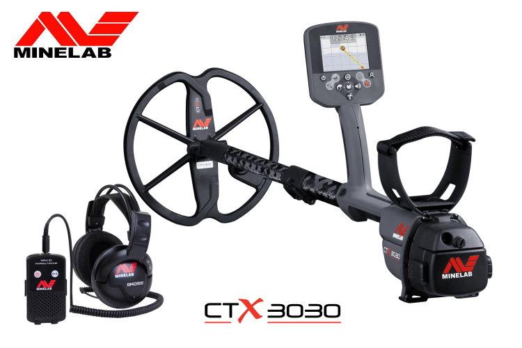 Minelab CTX3030 Metalldetektor