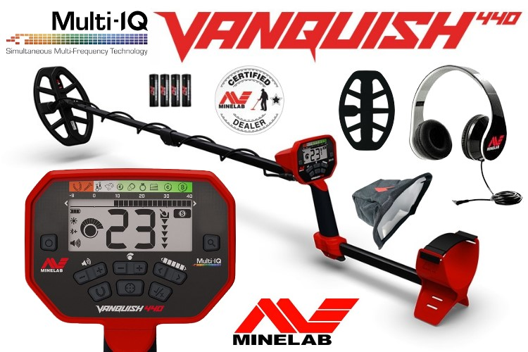 Metalldetektor Minelab Vanquish 440